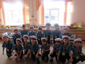 Моряки средней группы